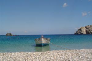 Stranden op Karpathos