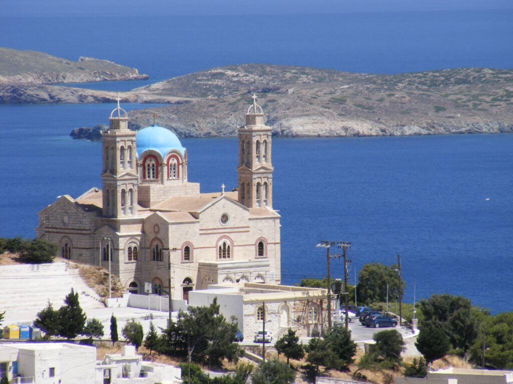 Ermoupoli kerk