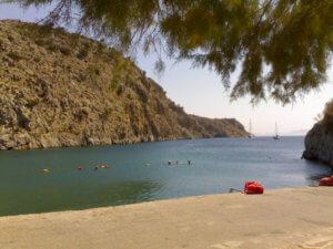 Kalymnos stranden