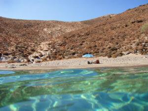 Syros stranden