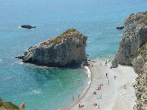 Kythira stranden