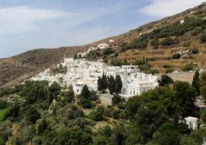 Tinos dorpjes
