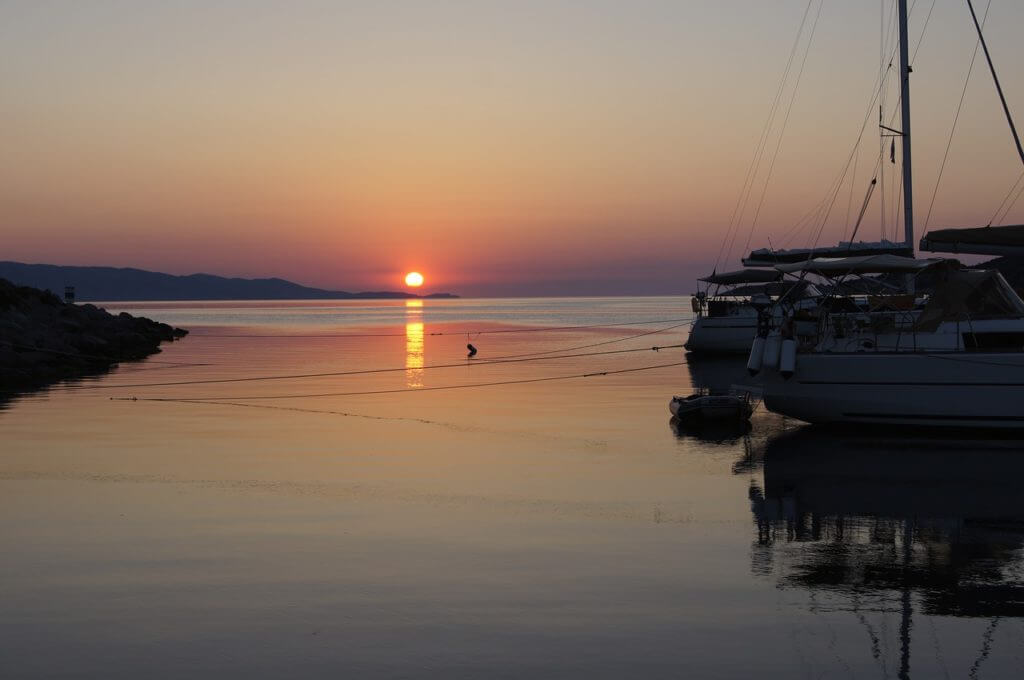 Spetses vakantie