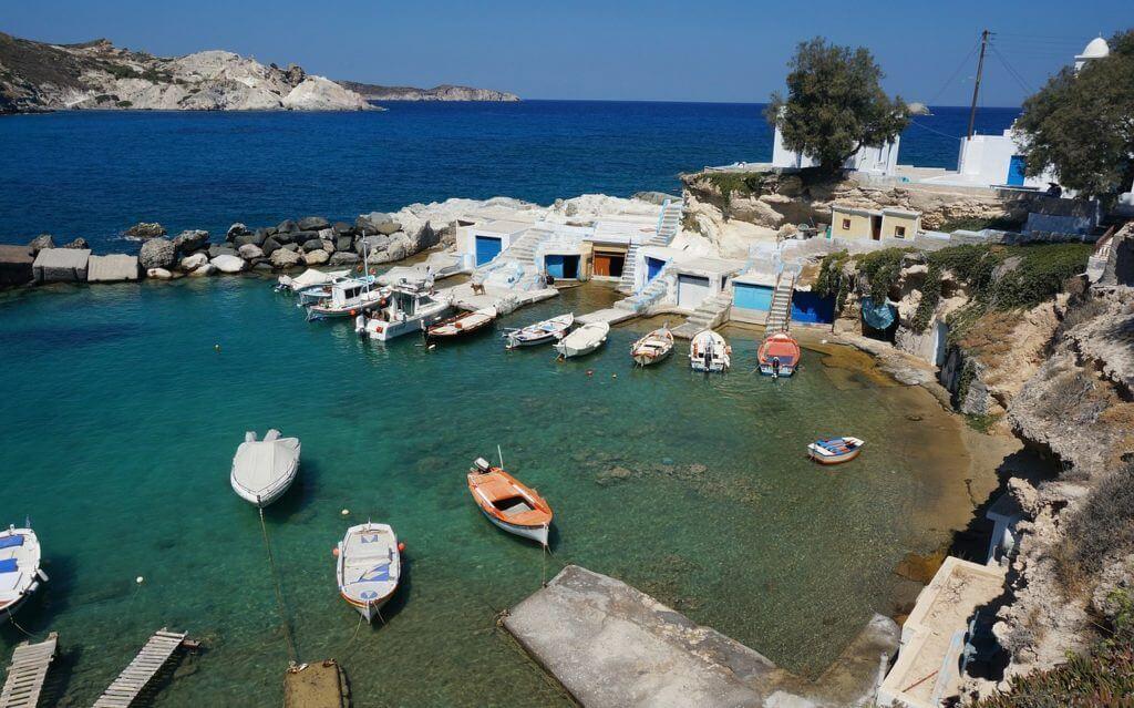 vakantie Milos